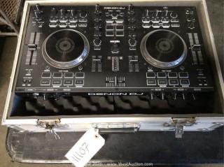 Denon MC4000 Serato DJ Controller in Road Case