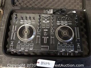 Denon MC4000 Serato DJ Controller in Soft Road Case