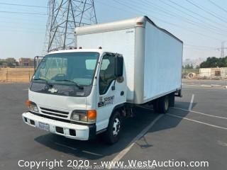2002 Chevrolet W-4500 Box Van