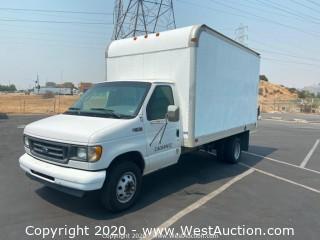 2003 Ford E-450 Box Truck