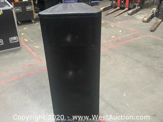 """QSC KW153 1000W 15"""" 3-way Powered Speaker with Cover"""