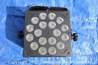 Blizzard Lighting Rokbox EXA RGBAW+UV 18x15 Watt LED Wash Par