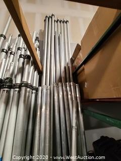 (2) Innovative Systems 12' - 22' Uprights
