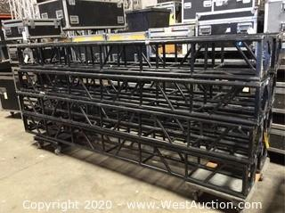 "10' Section of 12"" Black Bolt Truss"