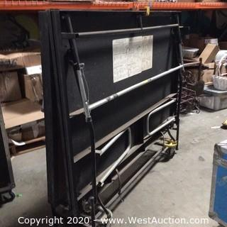 Mobile Foldable Rolling Stage Section 6' X 8' X 2'