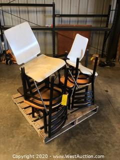 (9) Indoor and Outdoor Restaurant Chairs