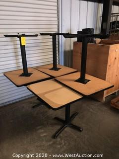 (5) Restaurant Tables