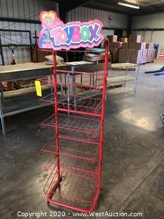 "Wire Shelf Display Rack 20""x12""x68"""