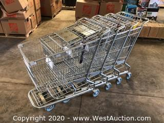 (4) Shopping Carts
