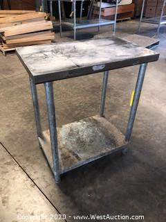 Allstrong Commercial Restaurant Metal Table
