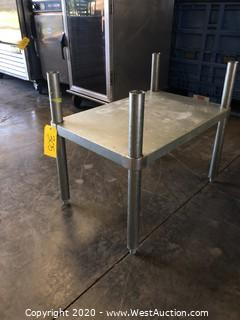 Metal Stand with Shelf