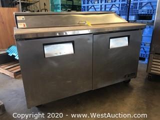 True Restaurant Preparation Station Refrigerator