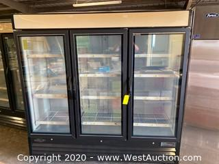 Kool-It Commercial 3 Door Reach-In Freezer