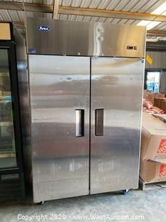 Atosa Commercial  Two Door Commercial Refrigerator