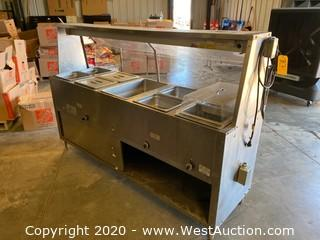 Supermetal Waterless Food Warmer With Sectional Infinite Switch Controls