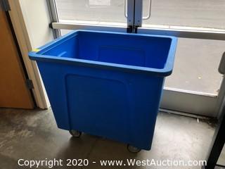 Plastic Laundry Cart
