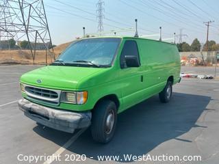 2002 Ford Utility Van 7.3L Diesel