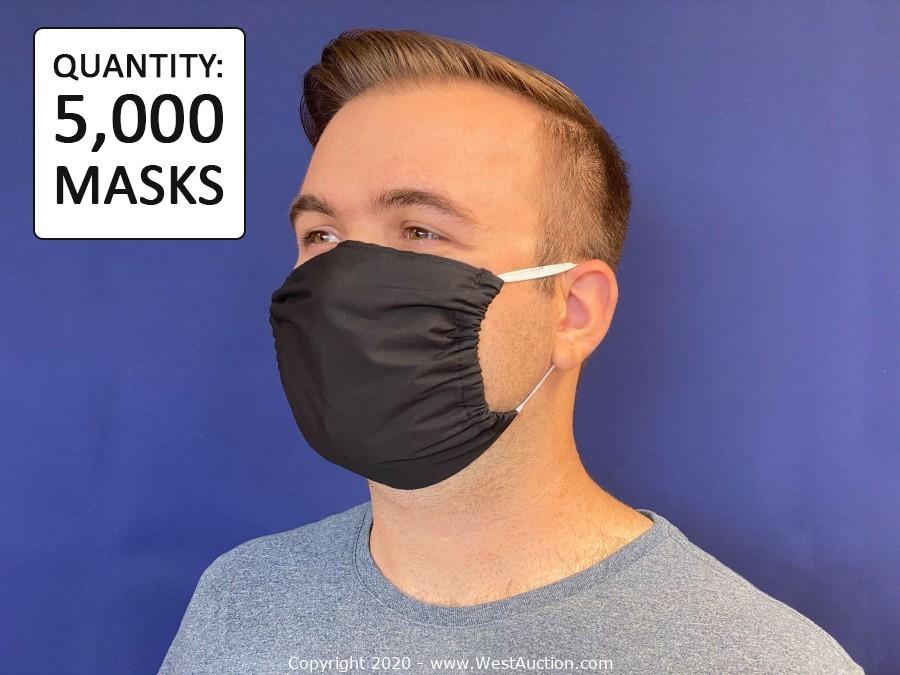 (75,000) KN95 FDA Approved (Non-Medical) Masks, (250,000) 2-Ply Cotton Masks with Filter Pocket, and (100,000) Disposable Medical Mask