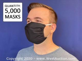 (5,000) 2-Ply Cotton Masks with Filter Pocket