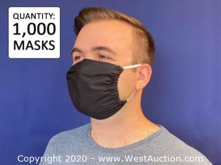 (1,000) 2-Ply Cotton Masks with Filter Pocket