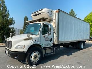 2011 Freightliner Business Class M2 26' Boxtruck with Thermo King Refrigerator