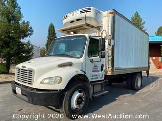2007 Freightliner Business Class M2 18' Boxtruck with Thermo King Refrigerator