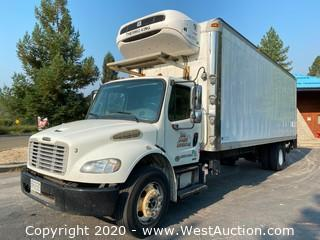 2012 Freightliner Business Class M2 26' Boxtruck with Thermo King Refrigerator