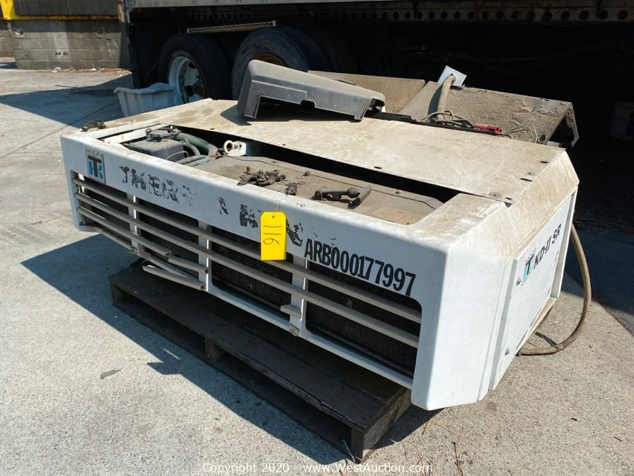 Online Auction of Freightliner and International Box Trucks, Forklifts, Sea Containers, Pallet Racking and More