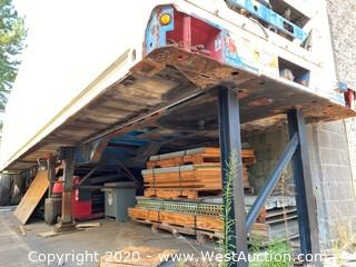 1987 Hyundai Carrier 40' Trailer Chassis (chassis only)
