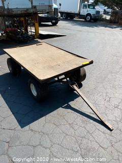 Metal Pull Cart