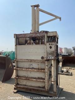 General Hydraulics Cardboard Baler