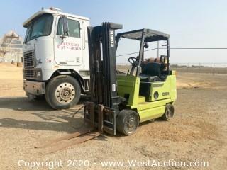 Clark GCX-25 Forklift