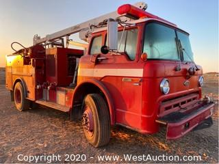 1990 Ford C8000 Fire Truck