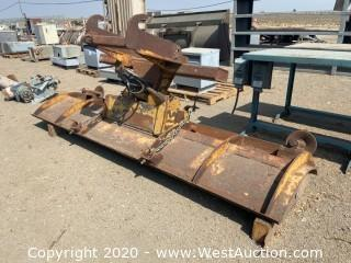 Snow Plow Attachment for Loader or Grader