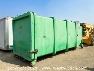 Bergman 27 Yard Trash Compactor