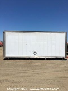 20' Bobtail Box Van for Storage