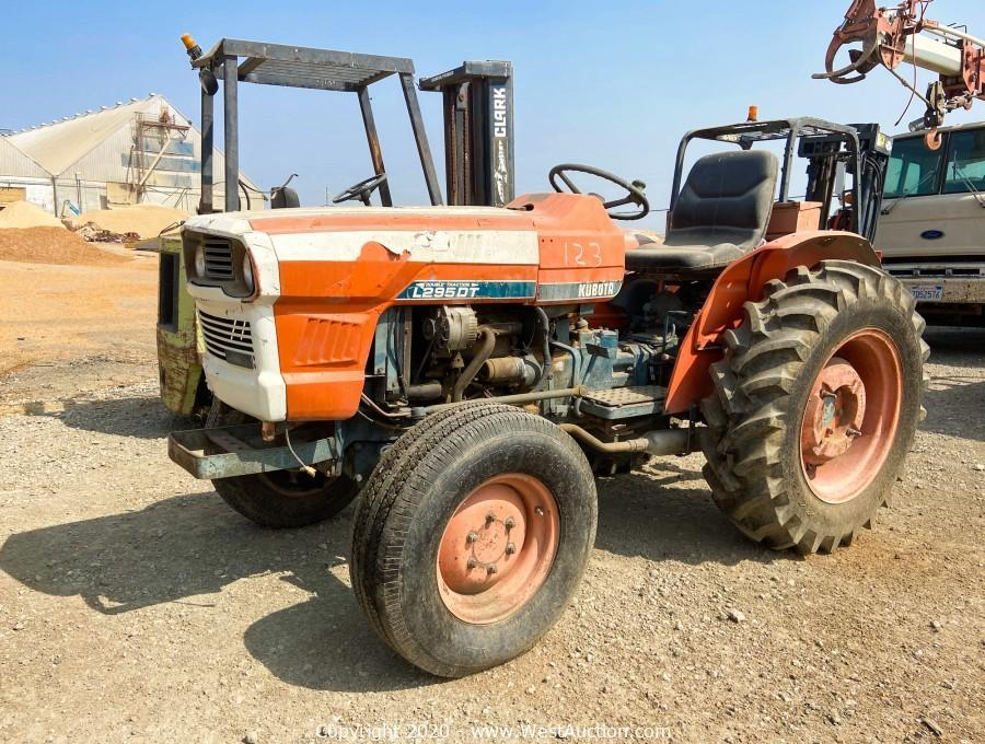 Surplus Heavy Machinery, Trucks, Forklifts and Equipment from Agricultural Grain Company