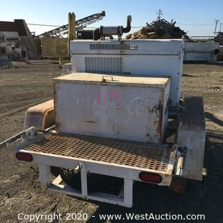 Onan Electric Generator On Trailer