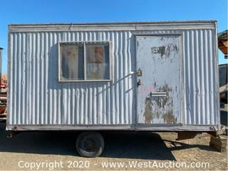 Jobsite Office Trailer 8'x16'