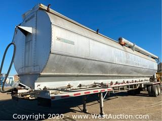 1991 Feedliner 45' Bulk Feed Trailer