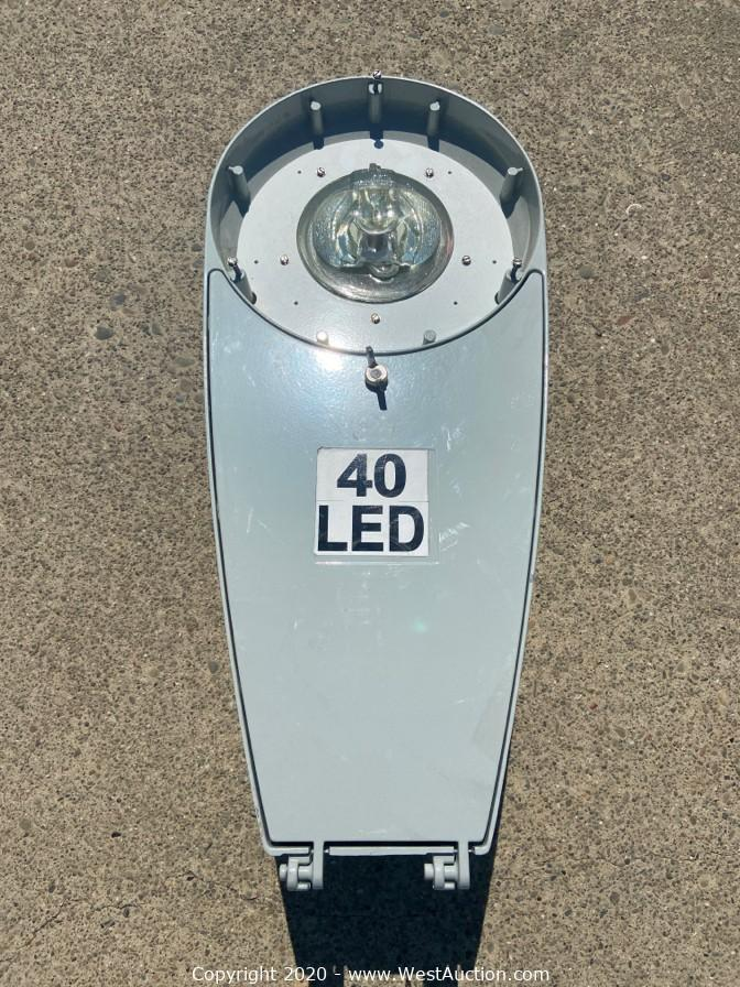 Online Auction of High-Performance Energy Efficient LED Cobra Head Roadway Street Lights