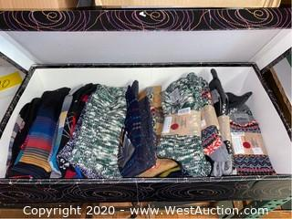 Box Of Assorted Socks