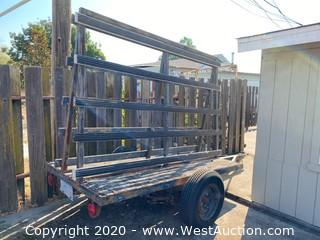 8' Spencer Trailer with Glass Rack