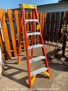 6' Werner Fiberglass Ladder
