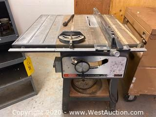 "Craftsman 10"" Bench Saw"