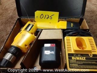 Dewalt 9.6 Volt Drill with Case