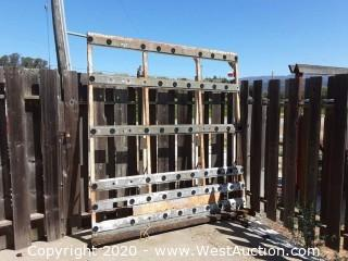 Barkow Steel Glass Rack for Truck