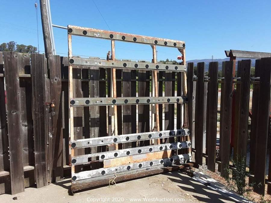 Retirement Auction of Window and Glass Shop