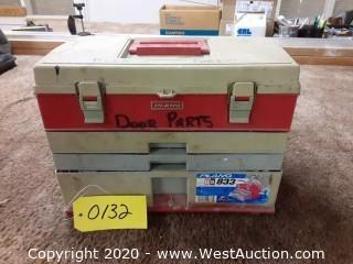 Tool/Parts Box with Door Parts