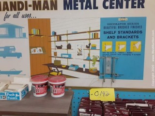 Handi-Man Part Center Display w/ Door and Window Parts